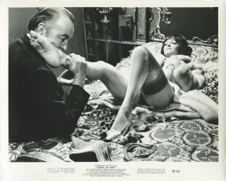 Venus in Furs (Two original photographs from the US release of the 1969 film). Jess Franco,...