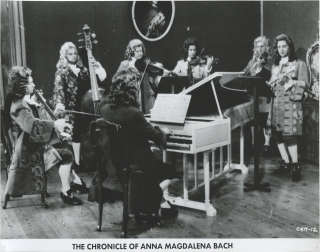 The Chronicle of Anna Magdalena Bach (Collection of seven original photographs from the 1968...