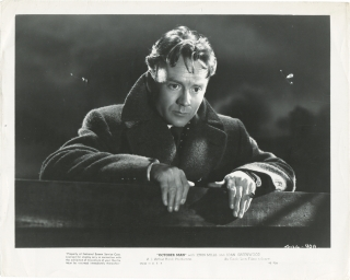 The] October Man (Collection of five original photographs from the 1947 film). Roy Ward Baker,...