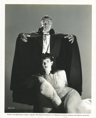 Son of Dracula (Original photograph from the 1943 film). Robert Siodmak, Curt Siodmak, Eric...
