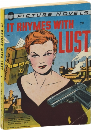 It Rhymes with Lust (First Edition). Arnold Drake, Leslie Waller, Drake Waller, Ray Osrin Matt...