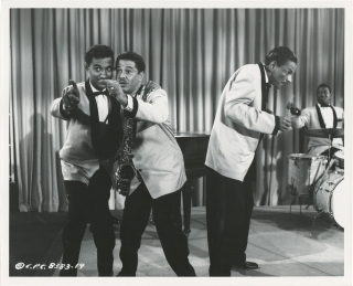 Don't Knock the Rock (Original photograph of The Treniers from the 1956 film). Fred F. Sears,...