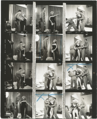 Queen of Outer Space (Three original contact sheets from the 1958 film). Edward Bernds, Ben...