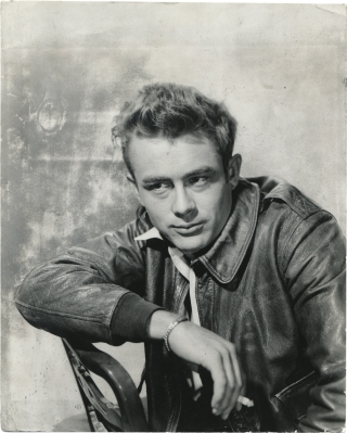 Schlitz Playhouse of Stars: The Unlighted Road (Original photograph of James Dean from the 1955...
