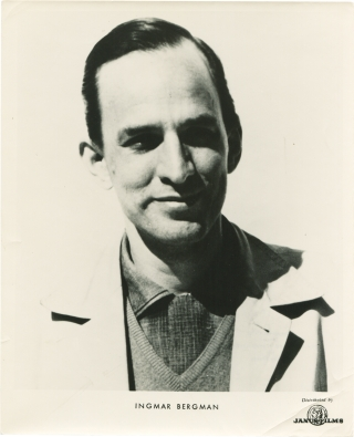 Original photograph of Ingmar Bergman (Circa 1960). Ingmar Bergman, subject