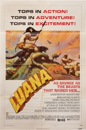 Luana, the Girl Tarzan (Archive of promotional material for the 1968 film). Roberto Infascelli,...