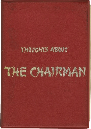The Chairman [Thoughts About the Chairman] (Original promotional book for the 1969 film). J. Lee...