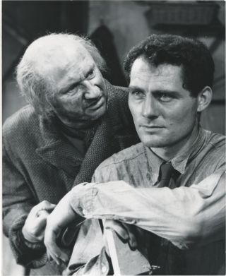 The Caretaker (Collection of five original photographs from the 1961 play). Harold Pinter,...