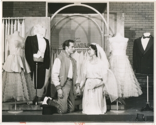 West Side Story (Original photograph from the 1957 musical play). Leonard Bernstein, Stephen...