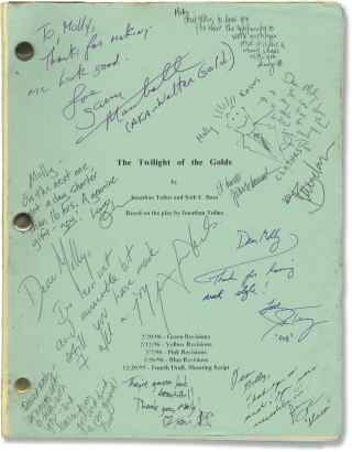 Twilight of the Golds (Original screenplay for the 1997 television film, signed by cast and...