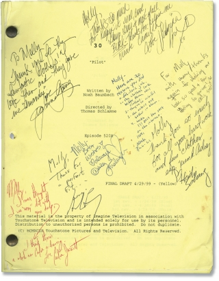 30 (Original screenplay for the 2000 television movie, signed by cast and crew). Noah Baumbach,...