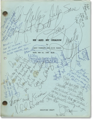 It Takes Two [Me and My Shadow] (Original screenplay for the 1995 film, signed by cast and crew)....