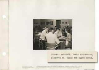 The Letter (Original keybook photograph from the set of the 1940 film). W. Somerset Maugham,...