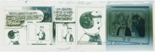 Original artwork for Nancy comic strip, August 19, 1977