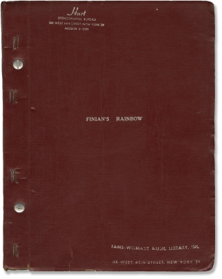 Finian's Rainbow (Original script for a touring version of the 1947 Broadway musical). E Y....