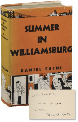 Summer in Williamsburg (First Edition, inscribed by the author). Daniel Fuchs