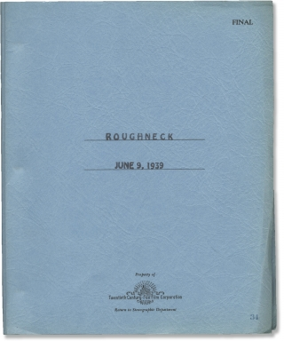 Pack Up Your Troubles [Roughneck] (Original screenplay for the 1939 film). H. Bruce Humberstone,...