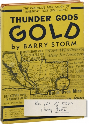 Thunder Gods Gold (Signed Limited Edition). Barry Storm