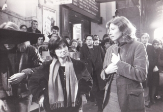 The Meetings of Anna [Les Rendez-vous d'Anna] (Original photograph of Chantal Akerman and Aurore...