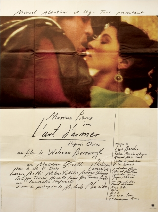 Art of Love [L'art d'aimer] (Original French poster from the 1983 film). Walerian Borowczyk,...