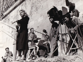 Love in the City [L'amore in citta] (Original photograph of Rita Josa and Michelangelo Antonioni...