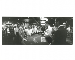 Casino (Two original photographs from the set of the 1995 film). Martin Scorsese, Nicholas...