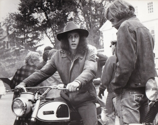 Alice's Restaurant (Original photograph of Arlo Guthrie on location for the 1969 film). Arlo...