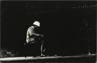Thelonious Monk quartet in concert in Paris, 1964 (Collection of five original photographs and...