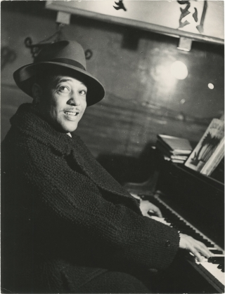 Original photograph of Duke Ellington in Paris, circa 1950s. Duke Ellington, subject
