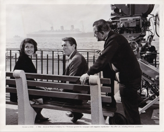 Mirage (Original photograph of Edward Dmytryk with Gregory Peck and Diane Baker from the set of...