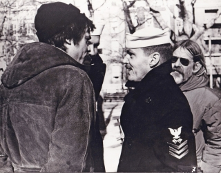 The Last Detail (Original photograph from the set of the 1973 film). Hal Ashby, Darryl Ponicsan,...