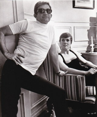 Original photograph of Julie Andrews and Blake Edwards on the set of Darling Lili, 1970. Julie...