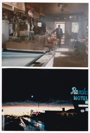 Paris, Texas (Three original color photographs from the 1984 film). Wim Wenders, L. M. Kit Carson...