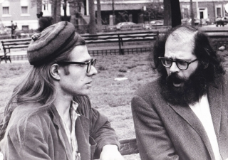Original photograph of Allen Ginsberg and Peter Orlovsky, circa 1968. Allen Ginsberg, Peter...