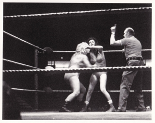 Below the Belt (Collection of three original photographs from the 1980 film). Robert Fowler,...