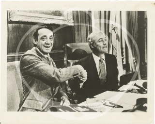 Two original photographs of Harvey Milk, circa 1970s