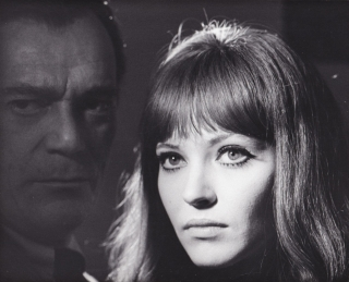 Alphaville (Original photograph from the 1965 French film). Jean-Luc Godard, Georges Pierre, Anna...