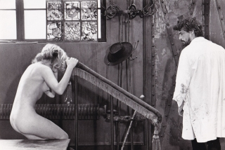 Lulu (Two original photographs from the set of the 1980 film). Walerian Borowczyk, Geza von...