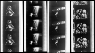 The Silence (Collection of eight original contact print photographs from the 1963 film). Ingmar...