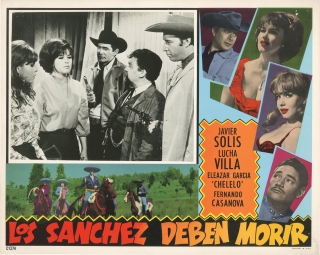 Collection of original Mexican lobby cards, 1955-1971
