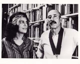 Improper Conduct (Original photograph of Nestor Almendros and Susan Sontag for the 1984...