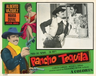 Pancho Tequlia (Collection of three original lobby cards for the 1970 film). Miguel M. Delgado,...