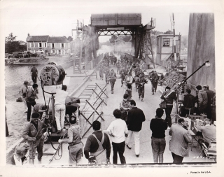 The Longest Day (Original photograph from the set of the 1962 film). Ken Annakin, Cornelius Ryan,...
