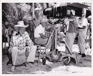 Mutiny on the Bounty (Original photograph from the set of the 1962 film). Lewis Milestone,...