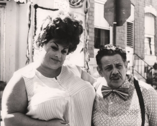 Hairspray (Original photograph of Divine and Jerry Stiller from the 1988 film). John Waters,...