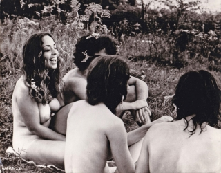 Woodstock (Collection of four original photographs from the 1970 documentary film). Michael...