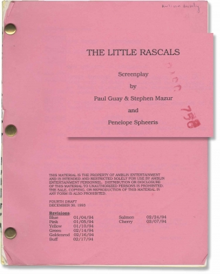 The Little Rascals (Original screenplay for the 1994 film). Penelope Spheeris, Mike Scott Robert...