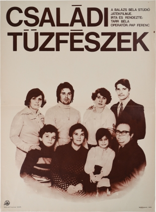 Family Nest [Csaladi Tuzfeszek] (Original poster from the 1977 Hungarian film). Bela Tarr,...