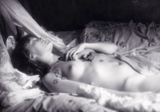 The Story of Sin (Two original photographs from the 1975 film). Walerian Borowczyk, Stefan...