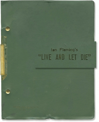Live and Let Die (Original screenplay for the 1973 film). Guy Hamilton, Tom Mankiewicz, Ian...